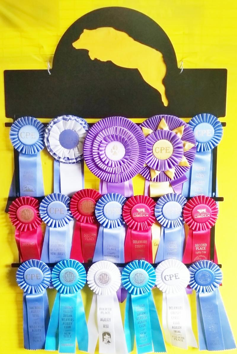 Paws in the Patch - RIBBON HOLDERS An attractive way to display your