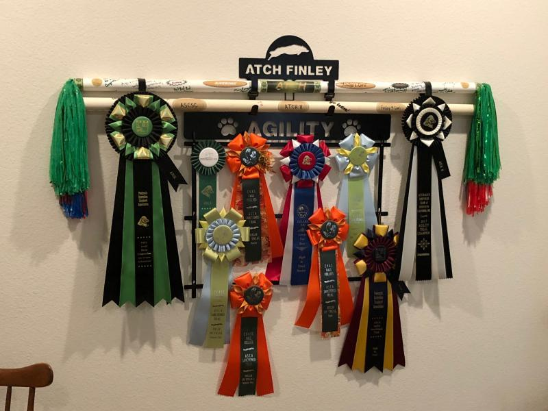 Paws In The Patch Ribbon Holders An